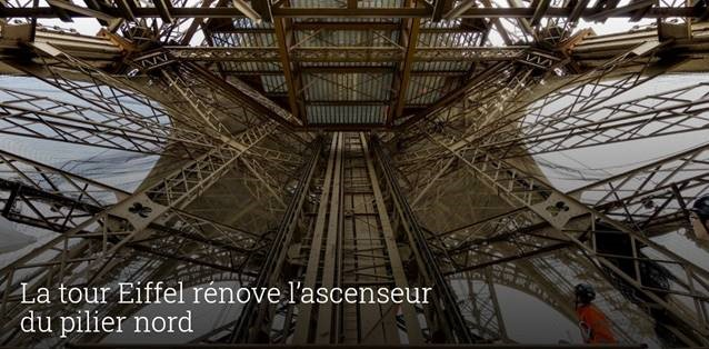 tour eiffel renovation